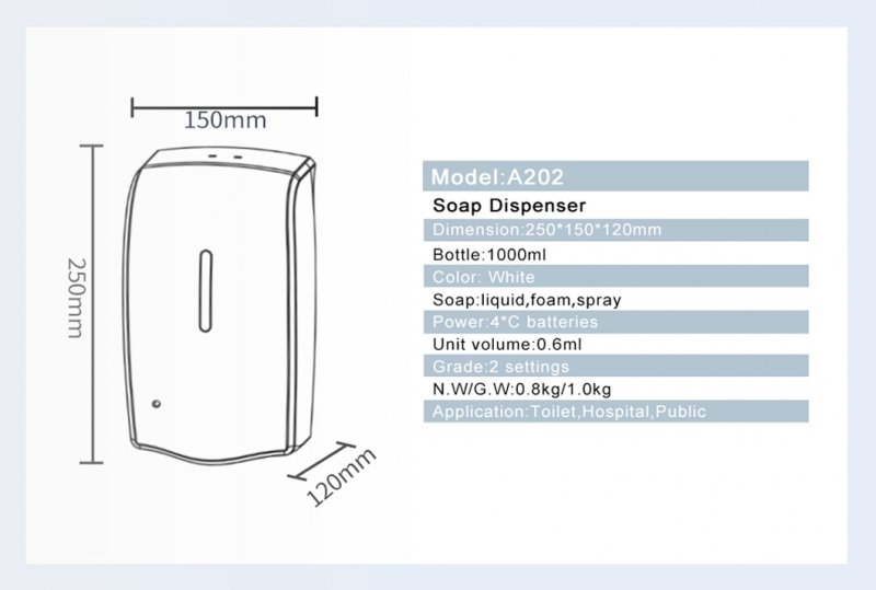 A202 Soap Dispenser 8 800x539